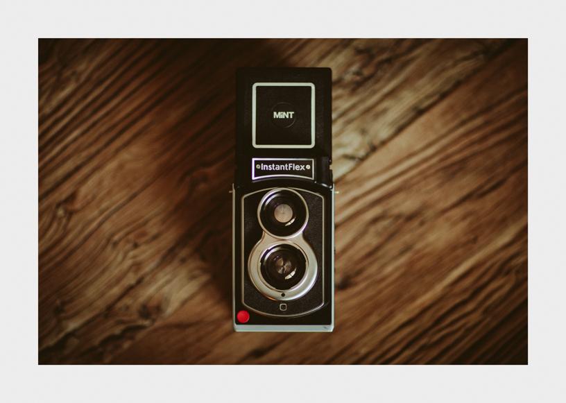 lentil Wedding Photography Mint Instantflex TL70 First Impressions Review